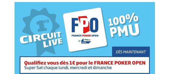 France Poker Open de Divonne: le programme intégral